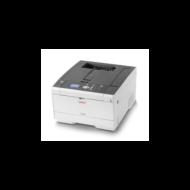 OKI Lézer LED nyomtató C532DN, színes, 64MB, USB/Háló, A4 30lap/perc FF/sz, 1200x1200 dpi, Duplex,