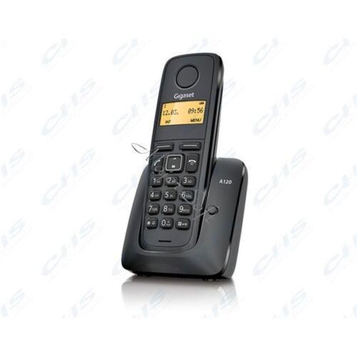 GIGASET ECO DECT Telefon A120 fekete Magyar menü GIG A120B
