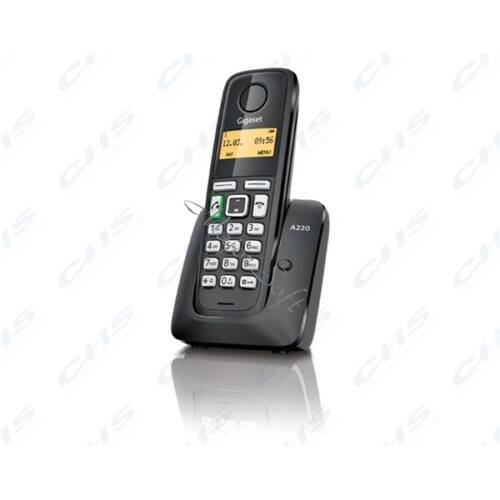 GIGASET ECO DECT Telefon A220 fekete Magyar menü GIG A220