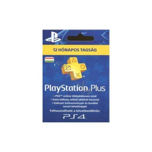 Image of SONY PSN PlayStation Plus 365 napos feltöltőkártya (PS4)