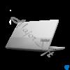 """Kép 4/7 - LENOVO ThinkBook 14 G2 ITL, 14,0"""" FHD, Intel Core i5-1135G7  (4C/ 4.2GHz), 8GB, 256GB SSD, Win10 Pro, Mineral Grey"""