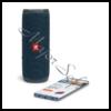 Kép 5/10 - JBL Flip 5 Bluetooth hangszóró, vízhatlan, Ocean Blue (kék), JBLFLIP5BLU Portable Bluetooth speaker