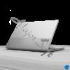 """Kép 4/9 - LENOVO ThinkBook 15-2 ITL, 15,6"""" FHD,  Core i7-1165G7 (4C,2.8GHz), 16GB, 512GB SSD, NV MX 450 2GB, Win10 Pro,  Min. Grey"""