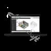 "Kép 3/8 - LENOVO ThinkPad P15s, 15.6"" FHD, Core i7-10610U (4C, 4,90GHz), 32GB, 512GB SSD, Quadro P520, Win10 Pro"