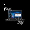 "Kép 3/7 - LENOVO ThinkPad T15g, 15.6"" FHD IPS, Intel Core i7-10750H (6C, 5.0GHz), 16GB, 512GB SSD, nVidia RTX 2070 S, Win10 Pro"