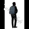 "Kép 3/13 - SAMSONITE Gurulós Notebook táska 115333-1090, ROLLING TOTE 15.6"" (BLUE) -GUARDIT 2.0"