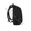 "Kép 7/11 - SAMSONITE Notebook hátizsák 115330-1041, LAPTOP BACKPACK M 15,6"" (BLACK) -GUARDIT 2.0"