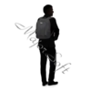 "Kép 10/11 - SAMSONITE Notebook hátizsák 115330-1041, LAPTOP BACKPACK M 15,6"" (BLACK) -GUARDIT 2.0"
