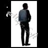 "Kép 10/11 - SAMSONITE Notebook hátizsák 115331-1090, LAPTOP BACKPACK L 17.3"" (BLUE) -GUARDIT 2.0"