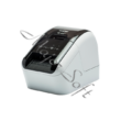 BROTHER Címkenyomtató QL-800, asztali, thermál, Fekete/Piros nyomtatás, 148 mm/mp, USB, 300dpi, PT Editor Lite, DK címke
