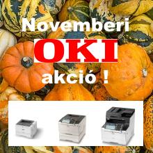 OKI printer, másoló akció