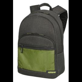 "AMERICAN TOURISTER Notebook hátizsák 128317-8400, SPORTY MESH Laptop Backpack 15.6"" ANTHRACITE/LIME GREEN"