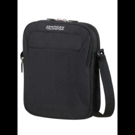 AMERICAN TOURISTER keresztpántos táska 74144-1817, Crossover Bag (SOLID BLACK) -ROAD QUEST