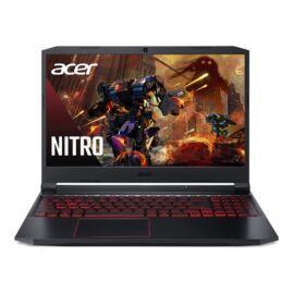 "Acer Aspire Nitro AN515-55-72RJ, 15.6"" FHD IPS, Intel Core i7-10750H, 8GB, 512GB SSD, GeForce GTX1660Ti, DOS, fekete"