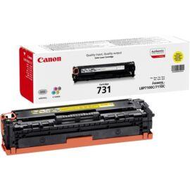 CANON Toner CRG 731 Y toner, sárga LBP-7100Cn, LBP-7110Cw, MF-623Cn, MF-628Cw, MF-8230Cn, MF-8280Cw