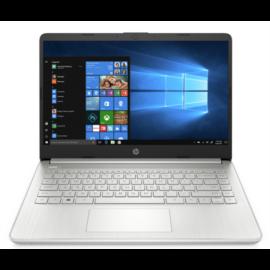 "HP 14s-dq2017nh, 14"" FHD AG IPS, Core i3-1125G4, 4GB, 256GB SSD, Win 10, ezüst"