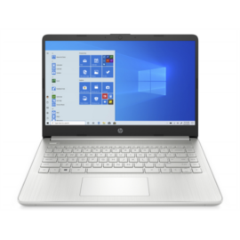"HP 14s-fq0018nh, 14"" FHD AG IPS, Ryzen5 4500U, 8GB, 512GB SSD, ezüst"
