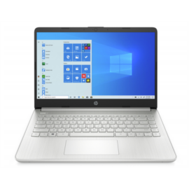 "HP 14s-fq1004nh, 14"" FHD AG IPS, Ryzen5 5500U, 8GB, 256GB SSD, ezüst"