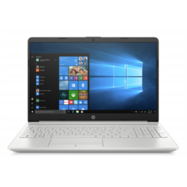 "HP 15-dw1014nh, 15.6"" FHD AG IPS, Celeron N4020, 8GB, 256GB SSD, Win 10, ezüst"
