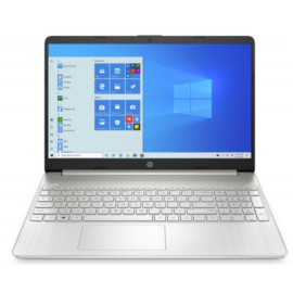 "HP 15s-eq2005nh, 15.6"" FHD AG IPS, Ryzen5 5500U, 8GB, 512GB SSD, Win 10, ezüst"