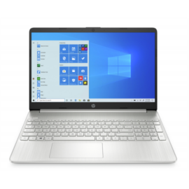 "HP 15s-fq2015nh, 15.6"" FHD AG IPS, Core i3-1115G4, 8GB, 256GB SSD, Win 10, ezüst"