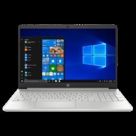 "HP 15s-fq2022nh, 15.6"" FHD AG IPS, Core i3-1125G4, 4GB, 256GB SSD, Win 10, ezüst"