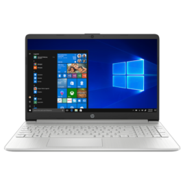 "HP 15s-fq2023nh, 15.6"" FHD AG IPS, Core i3-1125G4, 4GB, 256GB SSD, ezüst"