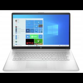 "HP 17-cn0001nh, 17.3"" FHD AG IPS, Core i5-1135G7, 8GB, 512GB SSD, Win 10, ezüst"