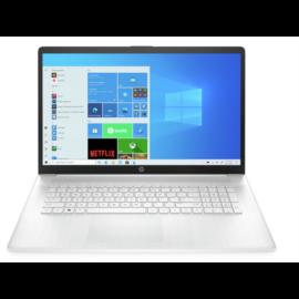"HP 17-cn0002nh, 17.3"" FHD AG IPS, Core i3-1125G4, 8GB, 256GB SSD, Win 10, fehér"