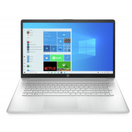 "HP 17-cn0003nh, 17.3"" FHD AG IPS, Core i3-1125G4, 8GB, 256GB SSD, Win 10, ezüst"