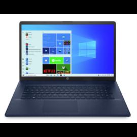 "HP 17-cn0005nh, 17.3"" FHD AG IPS, Core i3-1125G4, 8GB, 256GB SSD, Win 10, kék"
