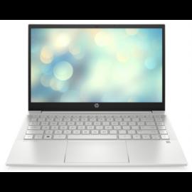 """HP Pavilion 14-dv0033nh, 14"""" FHD AG IPS, Core i3-1115G4, 8GB, 256GB SSD, Win 10, ezüst"""