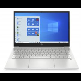 """HP Pavilion 14-dv0039nh, 14"""" FHD AG IPS, Core i3-1125G4, 8GB, 256GB SSD, Win 10, ezüst"""