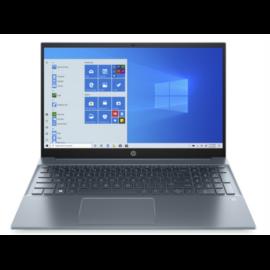 """HP Pavilion 15-eg0003nh, 15.6"""" FHD AG SVA, Core i3-1115G4, 8GB, 256GB SSD, Win 10, kék"""