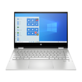 "HP Pavilion x360 14-dw0001nh, 14"" FHD AG IPS Touch 250cd, Core i3-1005G1, 8GB, 512GB SSD, Win 10, ezüst"