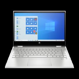 """HP Pavilion x360 14-dw0002nh, 14"""" FHD AG IPS 250cd, Core i5-1035G1, 8GB, 256GB SSD, Win 10, ezüst"""