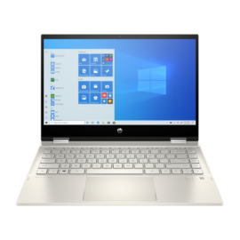 "HP Pavilion x360 14-dw0003nh, 14"" FHD AG IPS Touch 250cd, Core i5-1035G1, 8GB, 256GB SSD, Win 10, arany"