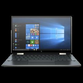 "HP Spectre x360 13-aw0011nh, 13.3"" UHD OLED Touch, Core i7-1065G7, 16GB, 512GB SSD, Win 10, kék"