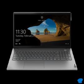 "LENOVO ThinkBook 15-2 ITL, 15,6"" FHD, Intel Core I3-1115G4 (2C, 3.0GHz), 8GB, 256GB SSD, Win10 Pro, Mineral Grey"