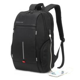"""MAX MOBILE Max Line Notebook Hátizsák KLB1339 15,6""""-ig, fekete"""