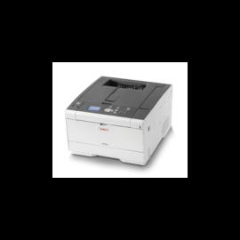 OKI Lézer LED nyomtató C532DN, színes (+ajándék WIFI modul), USB/Háló, 64MB, A4 30lap/perc FF/sz, 1200x1200 dpi, Duplex,