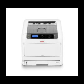OKI Lézer LED nyomtató C824dn A3, színes, 1GB, USB/Háló, A4 26lap/perc színes, 1200x600 dpi, Duplex