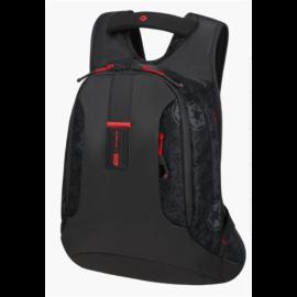SAMSONITE Notebook hátizsák 128480-8429, LAPTOP BACKPACK S+ (DART VADER BLACK MESH) -PARADIVER L