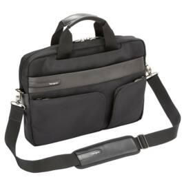 """TARGUS Notebook táska TBT236EU, Lomax Ultrabook™ 13.3"""" Topload Laptop Case - Black"""