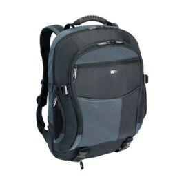 """TARGUS Notebook hátizsák TCB001EU, Atmosphere 17-18"""" XL Laptop Backpack - Black/Blue"""