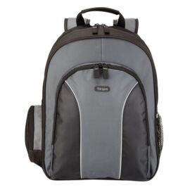 """TARGUS Notebook hátizsák TSB023EU, Essential 15.4-16"""" Laptop Backpack - Black/Grey"""