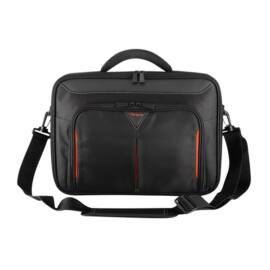 "TARGUS Notebook táska CN418EU, Classic+ 17-18"" Clamshell Laptop Bag - Black/Red"