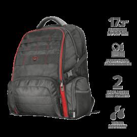 "TRUST Gamer Notebook hátizsák 22571, GXT 1250 Hunter Gaming Backpack for 17.3"" laptops - black"