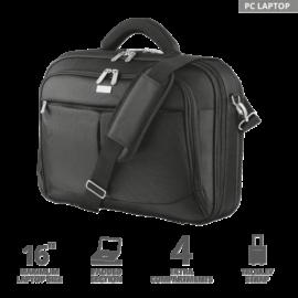 """TRUST Notebook táska 17412, Sydney Carry Bag for 16"""" laptops - black"""