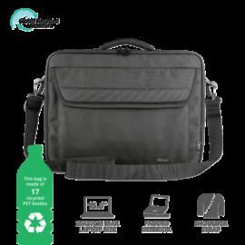 "TRUST Notebook táska 24189, Atlanta Recycled Bag for 15.6"" laptops - black"